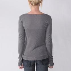 Everyday Junior's Single-button Accent Square Neck Top - Thumbnail 1