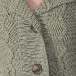 Funky People Juniors Button Front Cardigan - Thumbnail 2