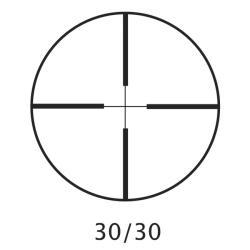 Barska 3-9x40 Huntmaster Scope with Rings - Thumbnail 1