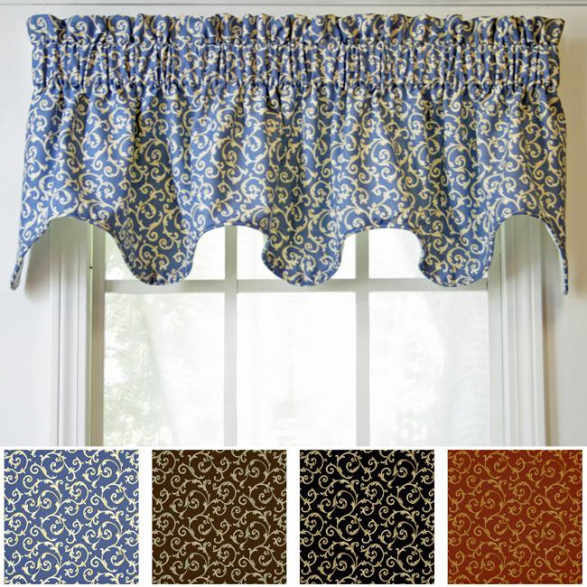 Ellis Tremblay Scallop Valance