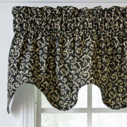 Ellis Curtain Tremblay Scallop Valance