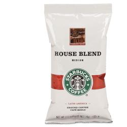 Starbucks House Blend 2.5-oz. Ground Coffee Packets (Case of 18)