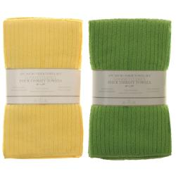 Microfiber Kitchen Towel/ Bar Mops (Set of 4) - Thumbnail 1