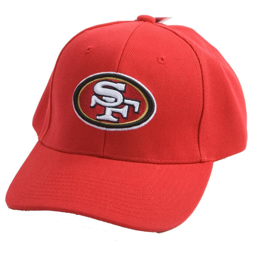 San Francisco 49ers NFL Hook and Loop Hat