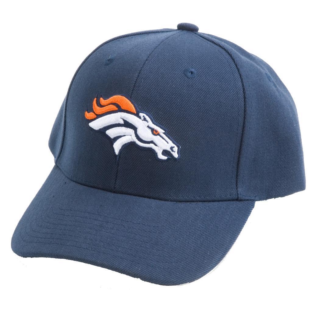 Denver Broncos NFL Hook and Loop Hat