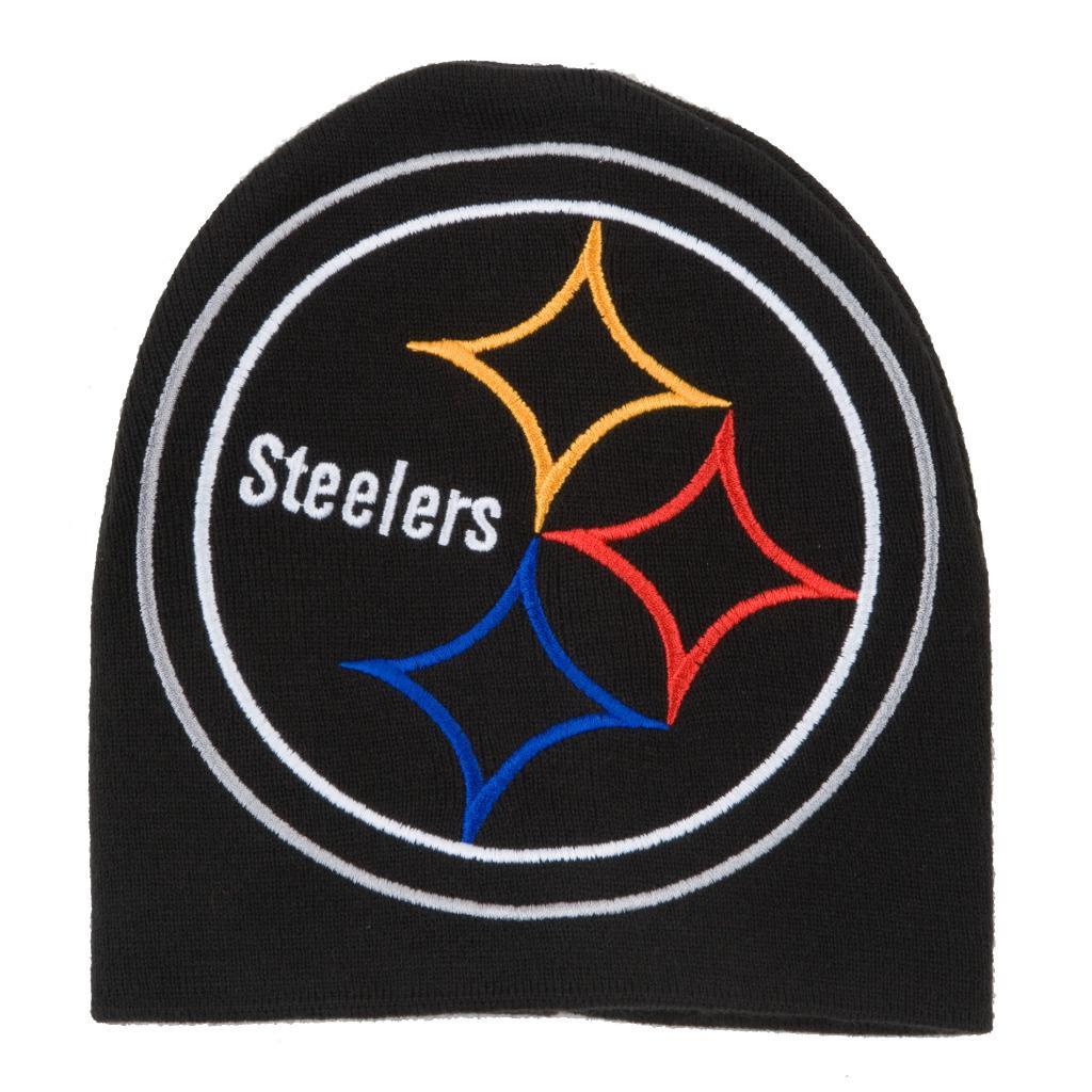 Pittsburgh Steelers Big Logo Stocking Hat