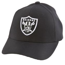 Oakland Raiders NFL Hook and Loop Hat - Thumbnail 0