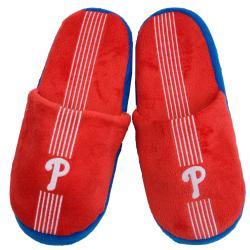 Philadelphia Phillies Striped Slide Slippers - Thumbnail 1