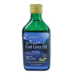 Carlson Laboratories Norwegian Cod Liver Oil 250 ML Bottle https://ak1.ostkcdn.com/images/products/73/184/P13309821.jpg?impolicy=medium