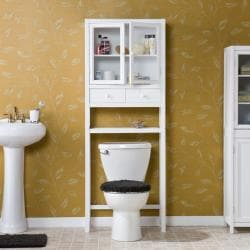 Ace Deluxe White Spacesaver Bathroom Cabinet - Thumbnail 2