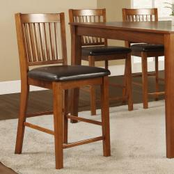 Beauville Mission 7-piece Counter-height Table Set