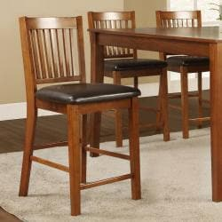 Beauville Mission 7-piece Counter-height Table Set - Thumbnail 1