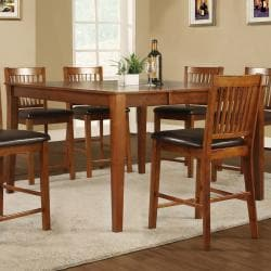 Beauville Mission 7-piece Counter-height Table Set - Thumbnail 2