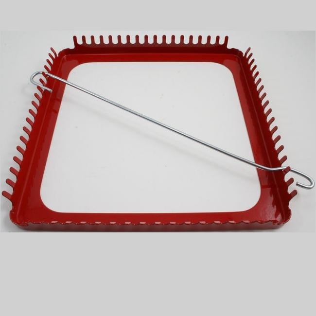 Heavy-Duty Metal Weaving Loom