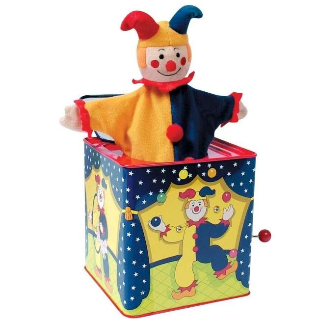 Schylling Classic Musical Jester Jack-in-the-Box