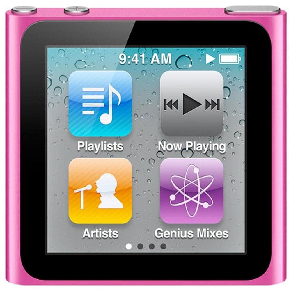Apple iPod nano 8GB Pink 6th Generation (Refurbished)