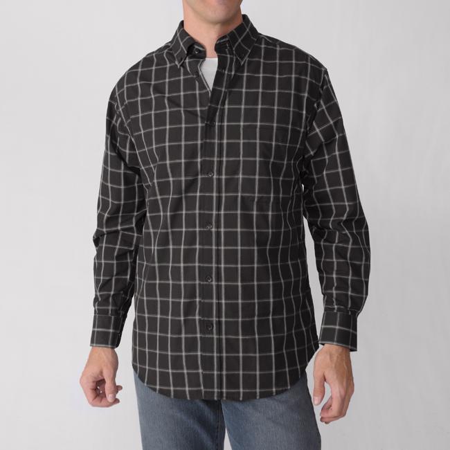 Gioberti by Boston Traveler Men's Plaid Shirt