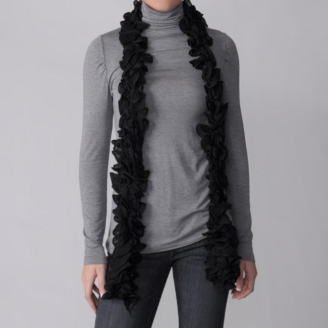 Hailey Jeans Co. Pretty Angel Women's Ruffled Scarf