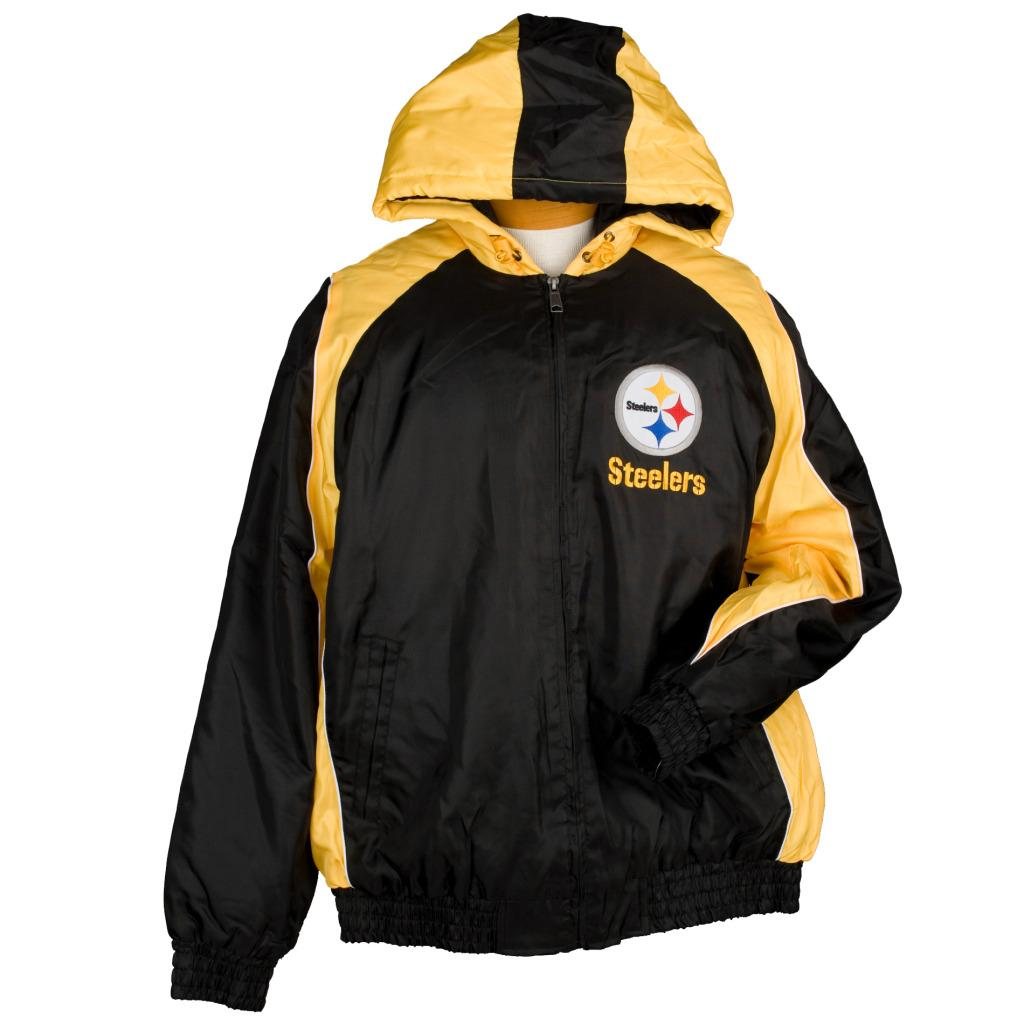 G3 Men's Pittsburgh Steelers Winter Coat - Free Shipping ...