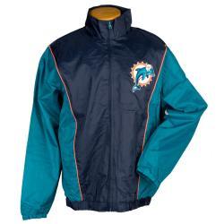 G3 Men's Miami Dolphins Light Weight Jacket - Thumbnail 2