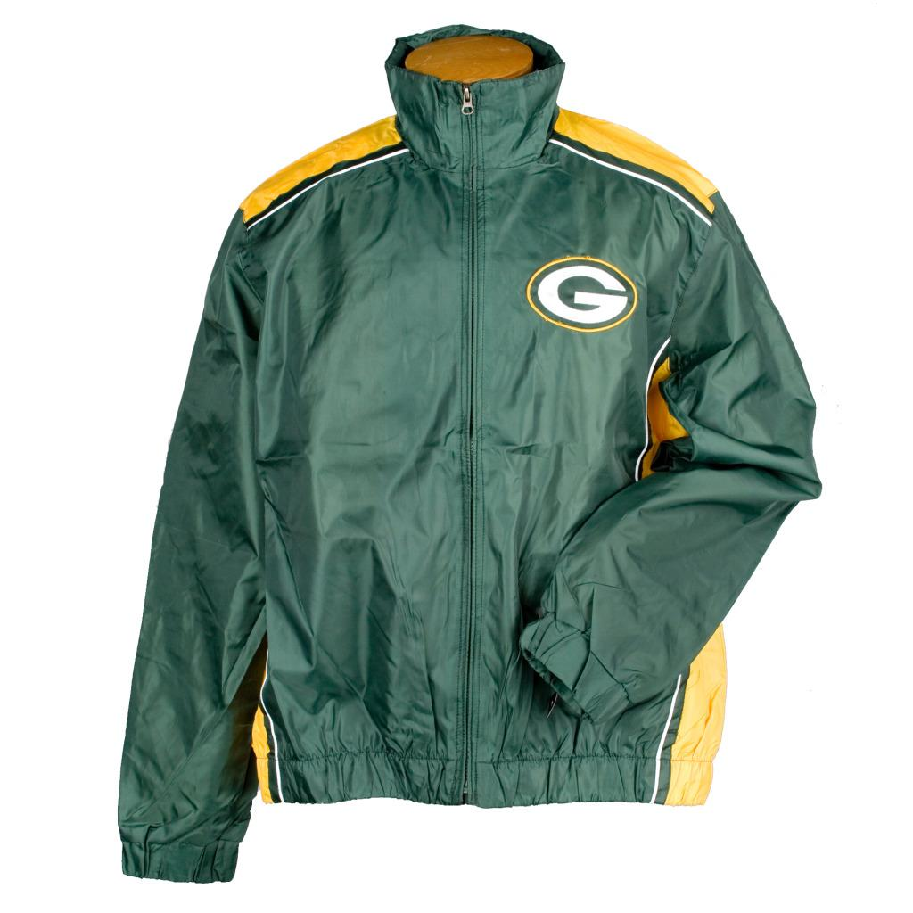 G3 Men S Green Bay Packers Light Weight Jacket Free