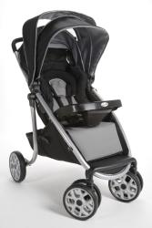 Safety 1st Aero Lite Deluxe Stroller in Silverleaf - Thumbnail 2