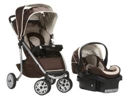 Safety 1st AeroLite LX Deluxe Travel System in Avery - Thumbnail 2