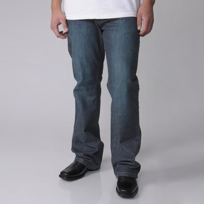 Gioberti by Boston Traveler Men's Bootcut Jeans
