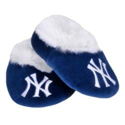 New York Yankees Baby Bootie Slippers - Thumbnail 1