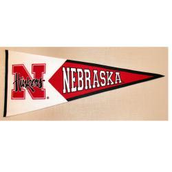 Nebraska Cornhuskers Classic Wool Pennant - Thumbnail 2