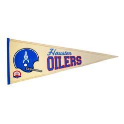 Houston Oilers AFL Throwback Wool Pennant - Thumbnail 2