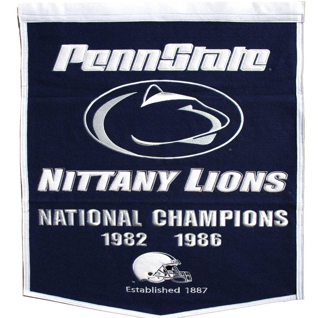 Penn State Nittany Lions NCAA Football Dynasty Banner
