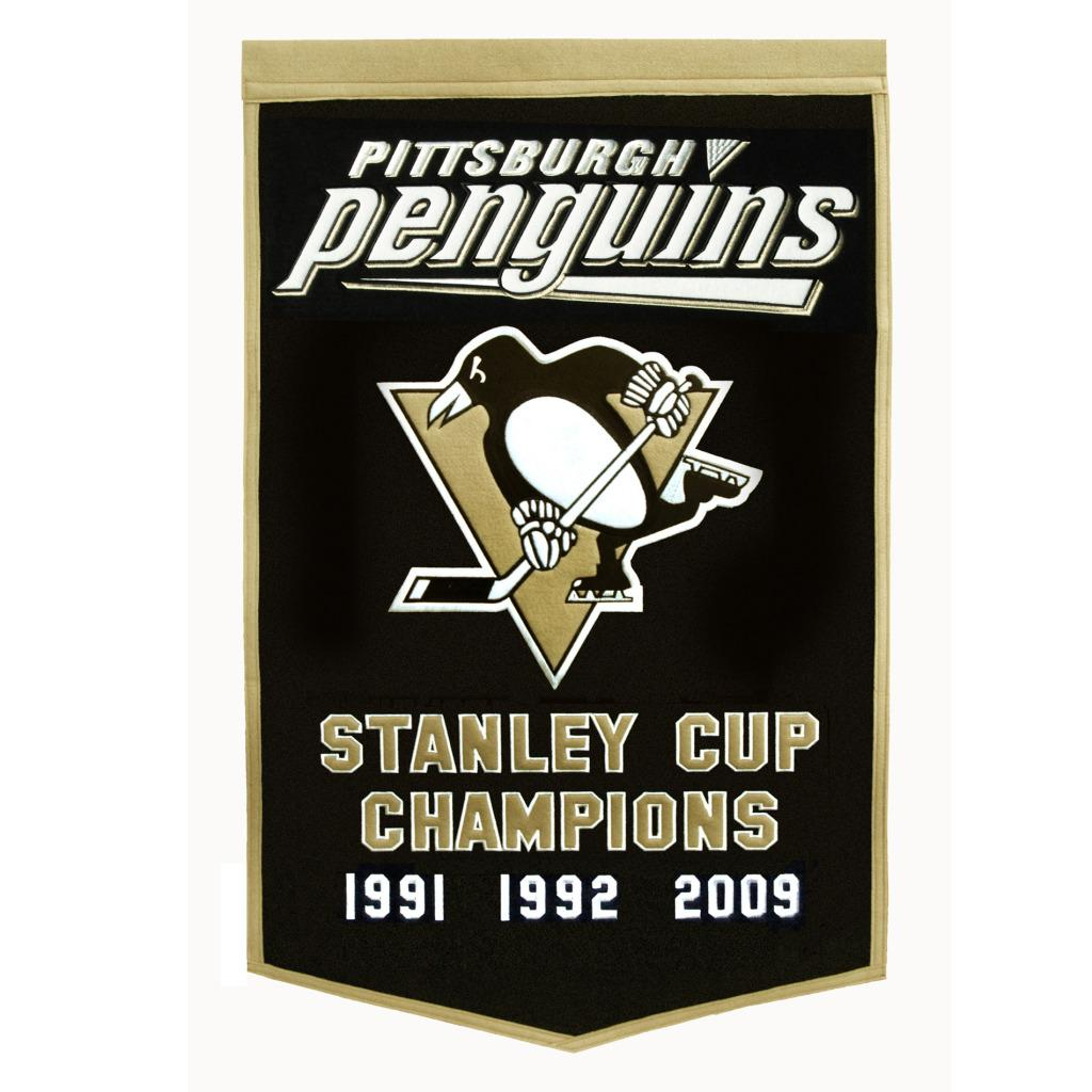 Pittsburgh Penguins NHL Dynasty Banner