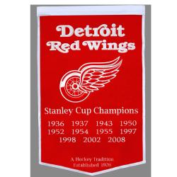 Detroit Red Wings NHL Dynasty Banner - Thumbnail 1