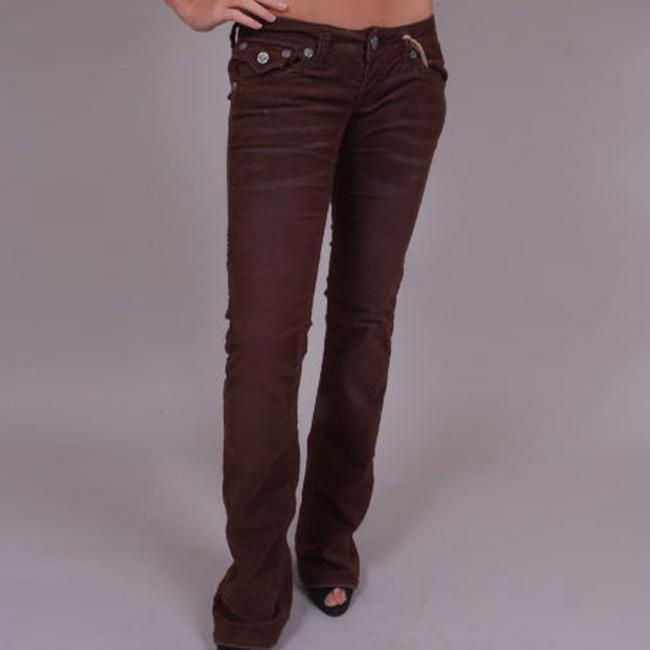 Women's 'Redondo Beach' Brown Corduroys - Thumbnail 0