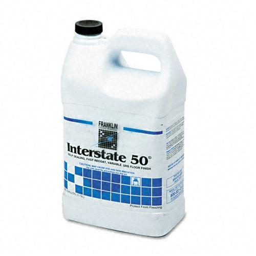 Franklin Cleaning Interstate 50 Floor Finish 1-gallon, White