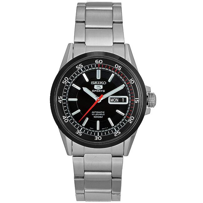 Seiko Men's '23 Jewels' Stainless Steel Automatic Watch