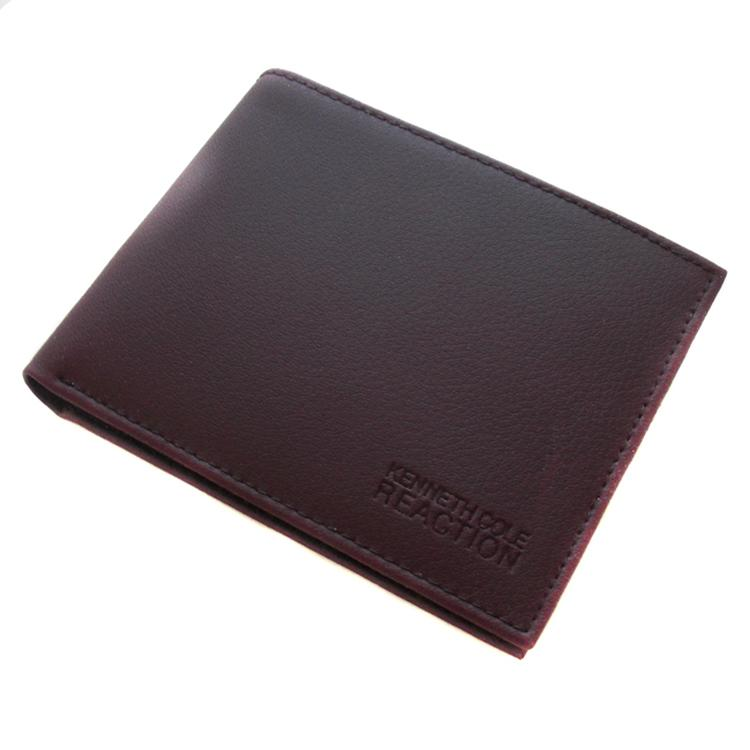 da98ab613903 Shop Kenneth Cole Reaction Men's Burgundy Leather Bi-fold Wallet - Free  Shipping On Orders Over $45 - Overstock - 5556129