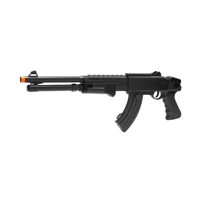 Spring Pump Action Saiga-12 AK Shotgun FPS-250 Airsoft Gun