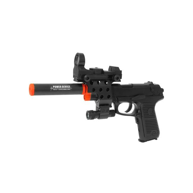 Electric Full Auto Tactical P85 Pistol Blowback Airsoft Gun