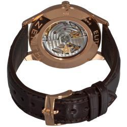 Zenith Men's 'Elite Captain Central Second' Rose Gold Watch