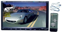 Pyle 7-inch Double DIN DVD/MP3/USB/SD-MMC Card/ iPod Connector/ Bluetooth