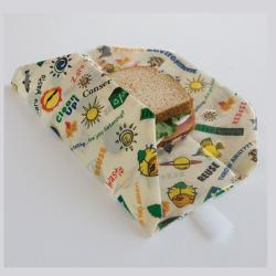 Wrap-N-Mat Reusable Sandwich Wraps - Thumbnail 1