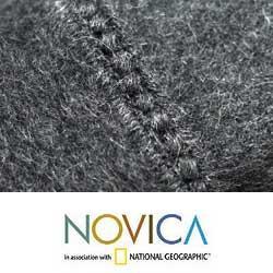 'Cozy Winter' Alpaca Wool Throw Blanket (Peru)