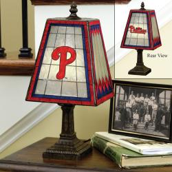 Philadelphia Phillies 14-inch Art Glass Lamp