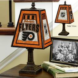 Philadelphia Flyers 14-inch Art Glass Lamp - Thumbnail 0