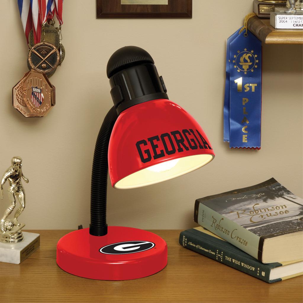 Georgia Bulldogs Desk Lamp