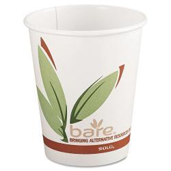 SOLO Bare PCF 8-oz Paper Hot Cups