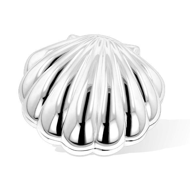 Shop Silver Shell Jewelry Box