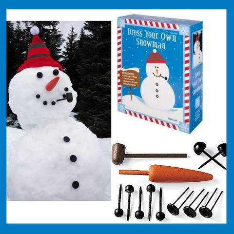 Toysmith Dress Your Own Snowman Kit - Multi-Colored - Not Applicable